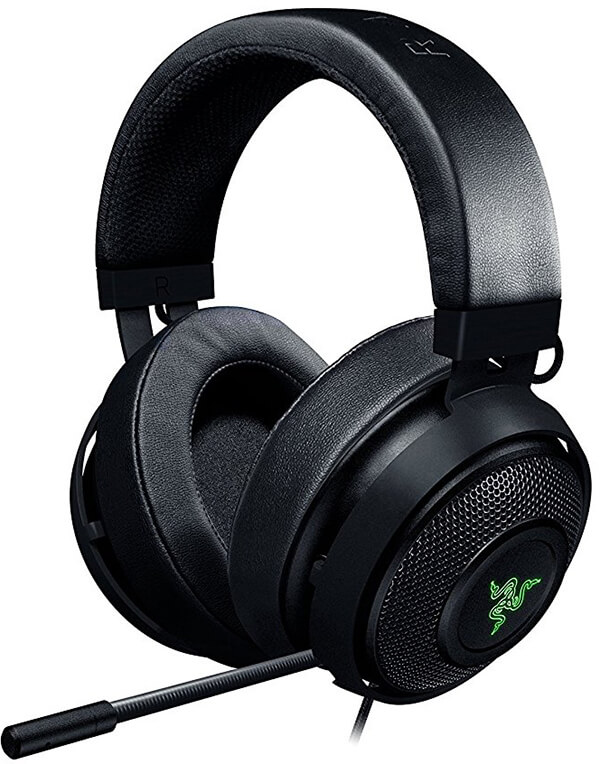 Razer Kraken 7.1 V2 7.1 Surround Sound - Retractable Noise-Cancelling Gaming Headset