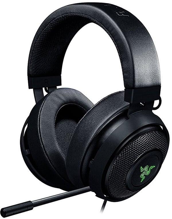Razer Kraken 7.1 V2 7.1 Surround Sound - Retractable Noise-Cancelling Gaming Headset