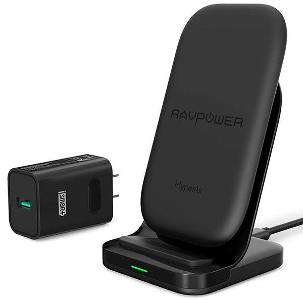 Wireless Charging Stand RAVPower 2 Coils best goft for men