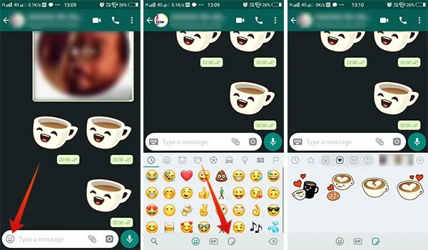How to use WhatsApp Stickers
