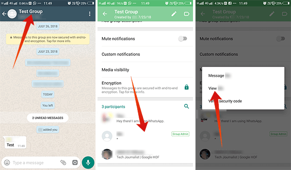 How to Block a WhatsApp Group from Adding your Number | Mashtips