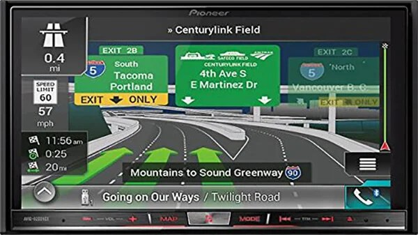 Pioneer AVIC-8200NEX Navigation Receiver with Carplay and Android Auto