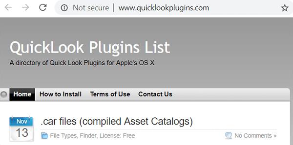 Quick Look Plugins