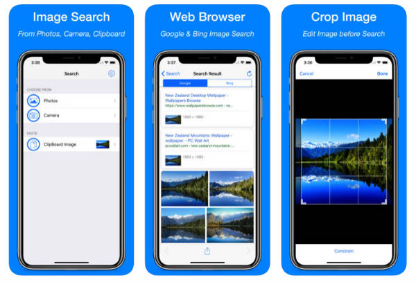 iPhone Reverse Image Search App