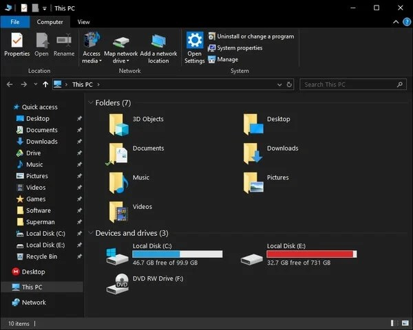 How To Switch Between Windows 10 Dark Theme & Light Theme