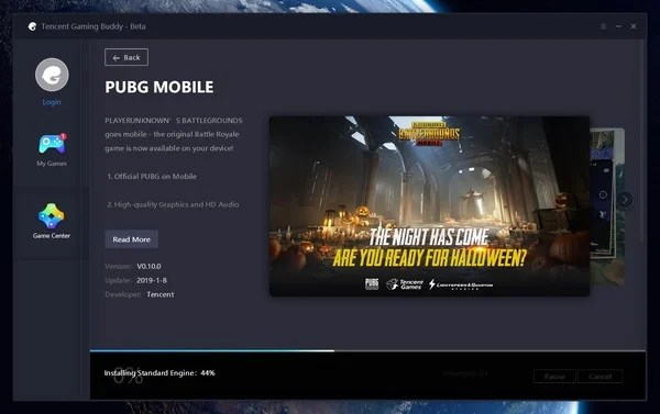 Tencent Gaming Buddy Engine download