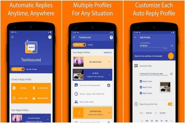 Best Automatic Reply Apps for Android - TextAssured