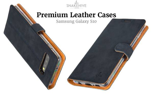 Snake hive leather case