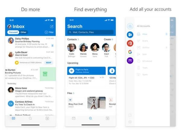 Outlook - The best free email application for iPhone and iPad