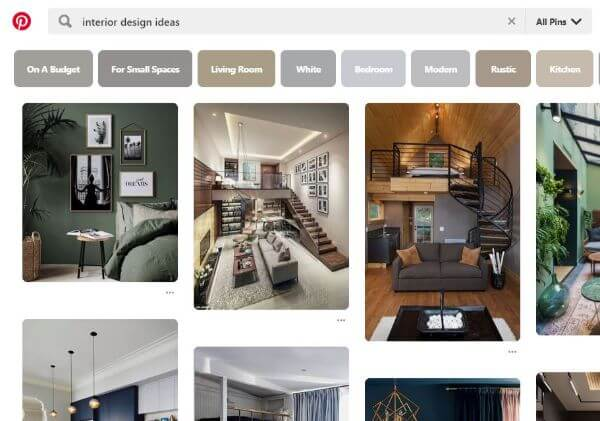 Pinterest Android Application