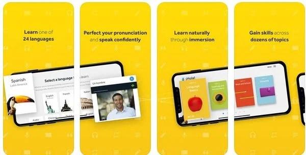 Rosetta Stone language learning app