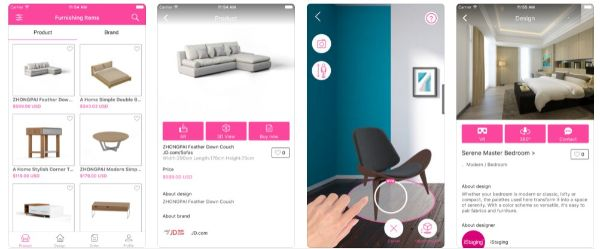 Decorate your rooms with iStaging app