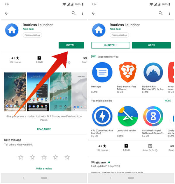 A Google Pixel Theme Makeover for any Android Smarpthone | Mashtips