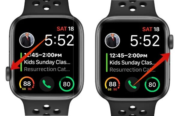 Apple Watch Screen Orientation