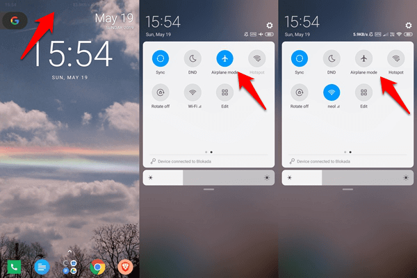 Fix Android Clock Widget Showing Wrong Time Error 2