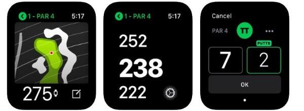 Fun Golf or Tag Heuer Golf app
