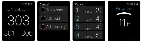 Golf Pad golf app