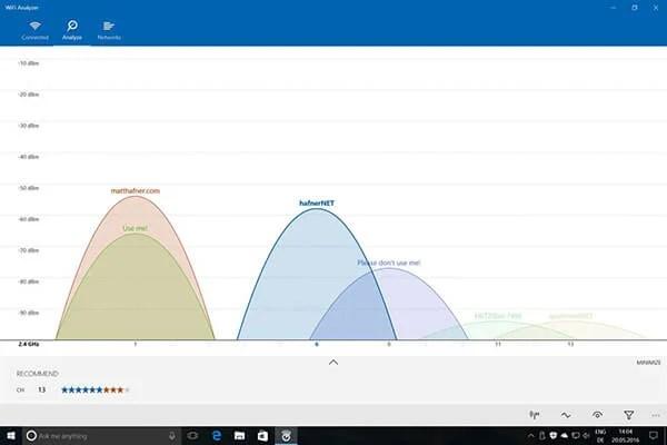Best WiFi Analyzer for Windows