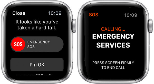 Apple Watch Fall Detection SOS Call