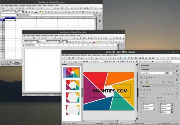MS Office alternative: Libre Office
