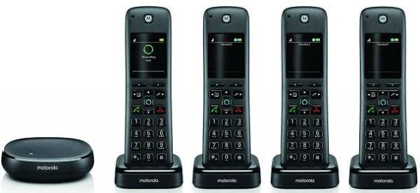 Motorola AXH04 Cordless Phone