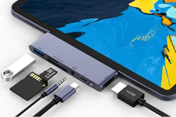 Rayrow USB C Hub for iPad