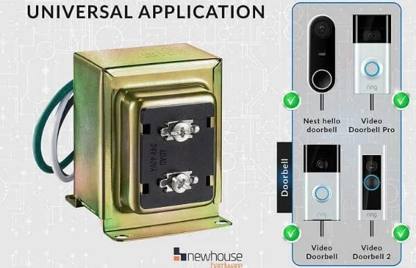 Ring Door Bell Universal Transformer