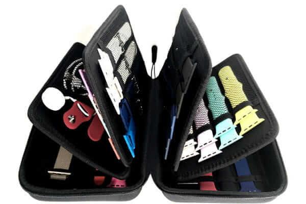 Smart Watch Bands Travel Case Wallet