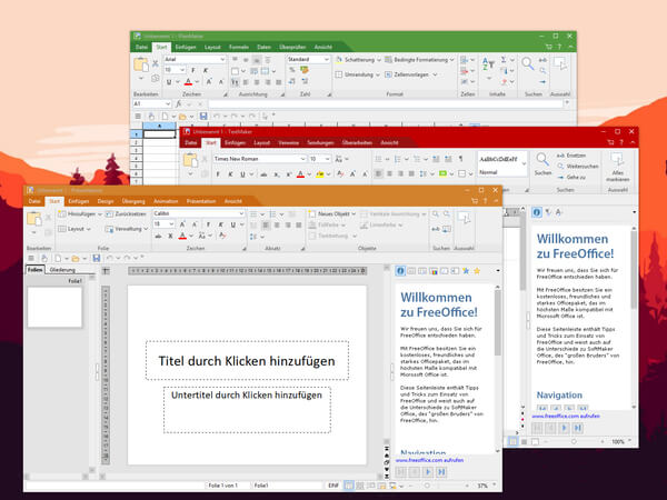 SoftMaker FreeOffice Linux Office Suite
