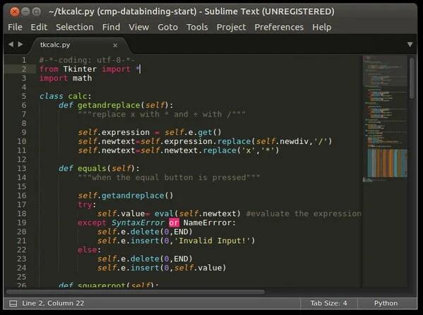 Linux Text Editros: Sublime Text