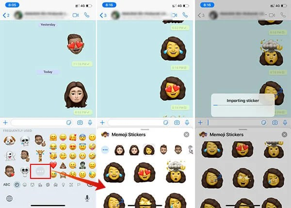 amongst lots of features including the Animojis too Memojis equally stickers for close every ins How to Get Animoji or Memoji Stickers on WhatsApp for Android