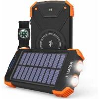 BLAVOR Wireless Solar Power Bank for iPhone 11
