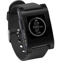 Pebble watch with e-paper display