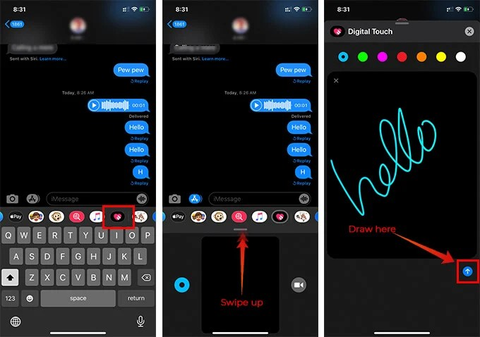 How to Send Magical Digital Touch Messages on iMessage