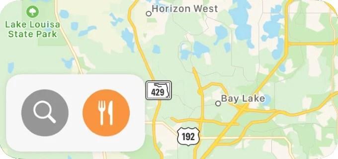 iPhone Map Widget