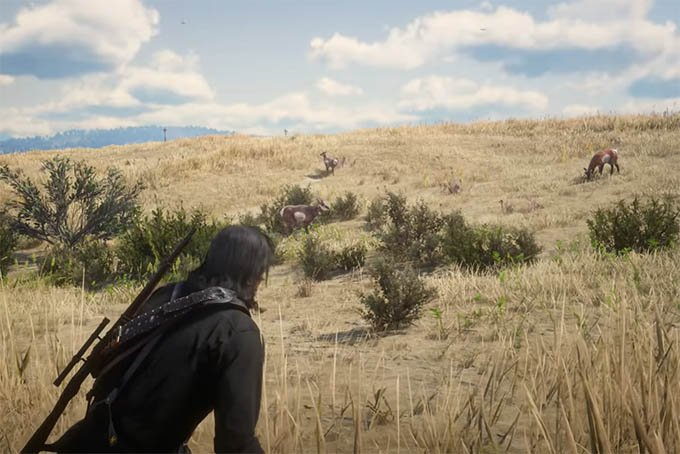 Hunting Large Animals in RDR 2