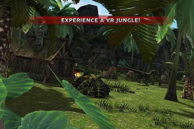 Jurassic VR - Dinos for Cardboard Virtual Reality