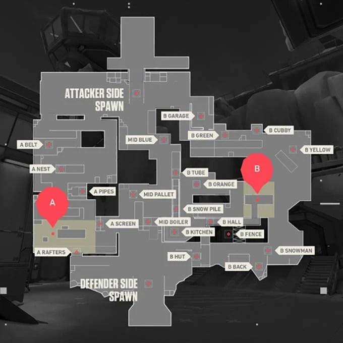 Valorant Maps