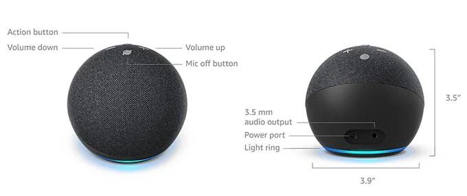 Amazon Echo Dot 4 Design