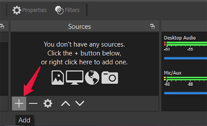 Add New Media Source in OBS Studio