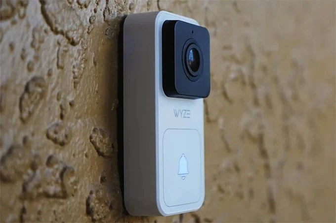 Wyze Doorbell Side View