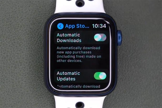 Disable Automatic Download for Apps on Apple Watch