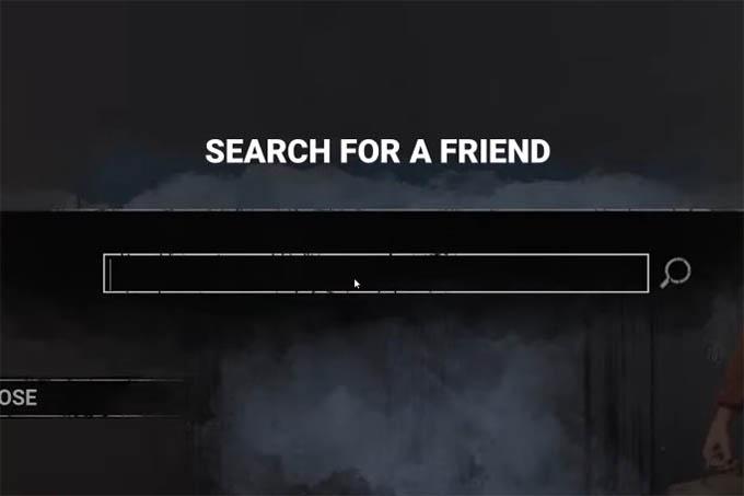 Search for Friend in Dead By Daylight