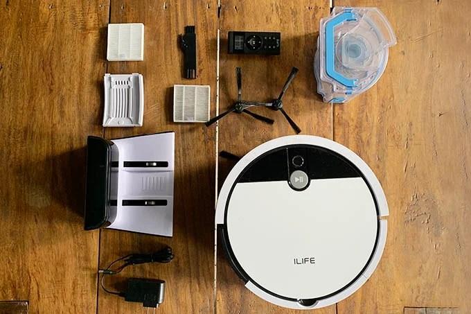 iLife V9e Whats In the Box
