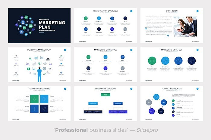 25 marketing powerpoint templates for eye-catching presentations, Modern powerpoint