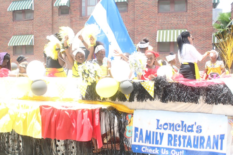 Children with Loncha Restaurant at Carnival Houston 2016