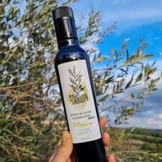 Aceite AOVE Arbequina aromatizado con romero