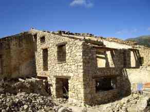 Construcción con piedra