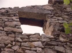 Detalle dintel de piedra