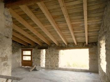 El techo desde el interior
